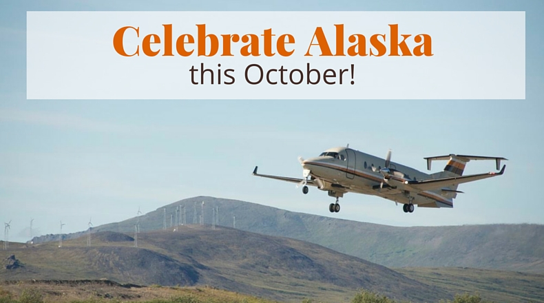 Celebrate Alaska this October! | @BeringAir | www.beringair.com
