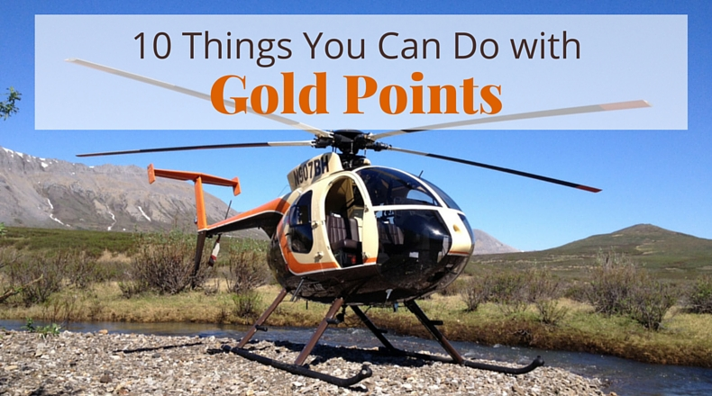 10 Things You Can Do with Gold Points | @BeringAir | www.beringair.com