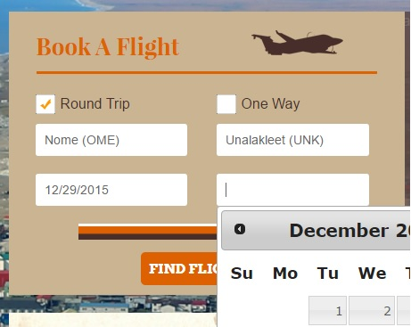 How to Book Your Flight with Bering Air: Step 4