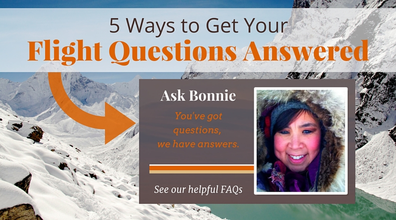 5 Ways to Get Your Flight Questions Answered   @BeringAir   www.beringair.com