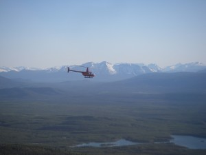 R44 flight